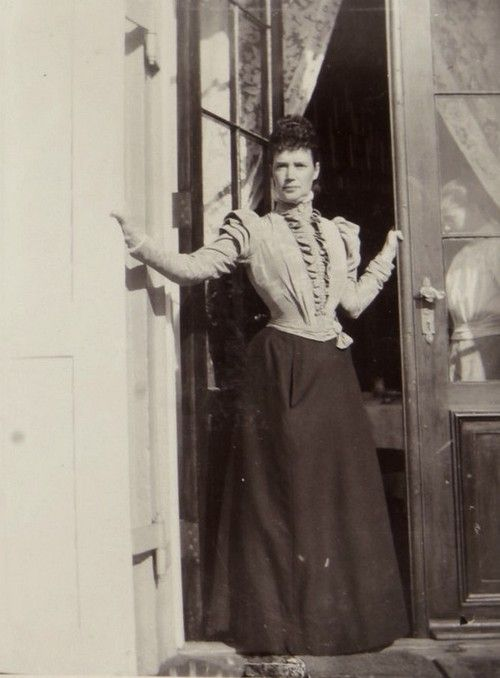Tsarina Maria Fyodorovna of Russia. Mids 1890s