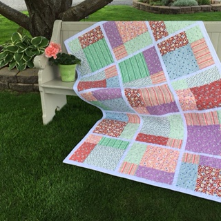 Quilt in a Day Eleanor Burns Pattern,-Piece of Cake