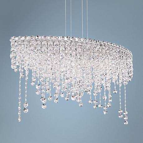 Schonbek chantant 33 wide small crystal pendant light crystal schonbek chantant 33 wide small crystal pendant light 5w316 lamps plus mozeypictures Images