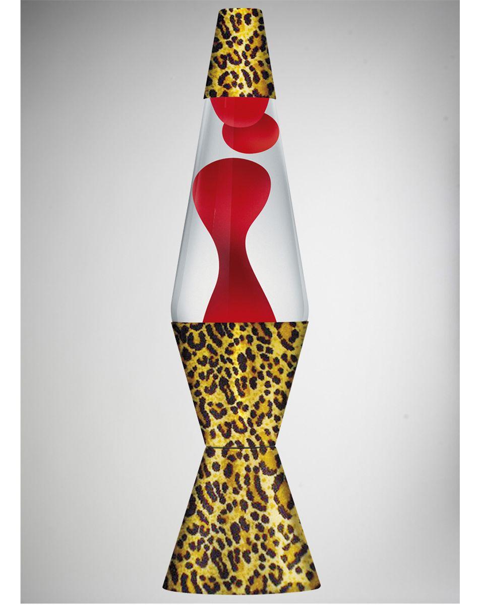 Zebra lava lamp uk - Lava Lamp With Red Lava Clear Liquid And Leopard Base