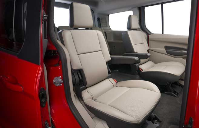 Second Row Fold Flat Bucket Seats Ford Transit Ford Ford Flex
