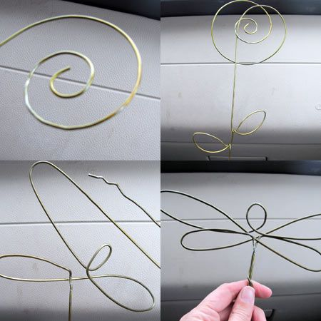 Make Your Own Pretty Wire Garden Art The Art Of Jen Goode