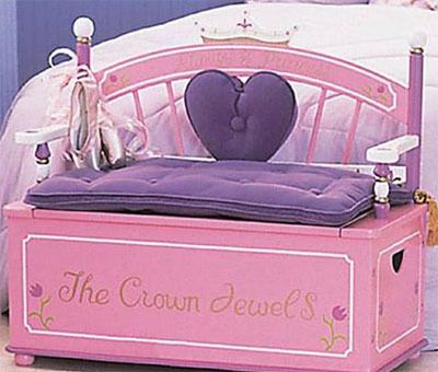 bench chair - perfect for a princess.  #DisneyPrincessWMT