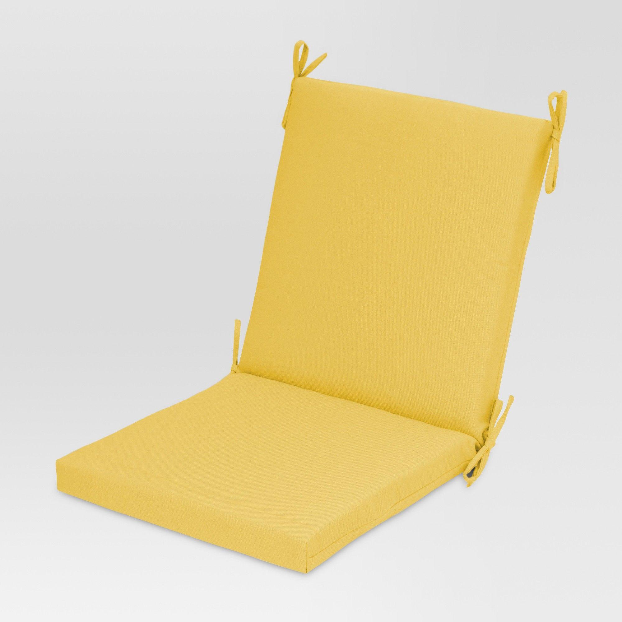 Chair Cushion Yellow Threshold Chair Cushions Outdoor Chair