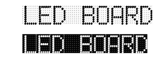 50 Awesome LED Digital Fonts for Designers