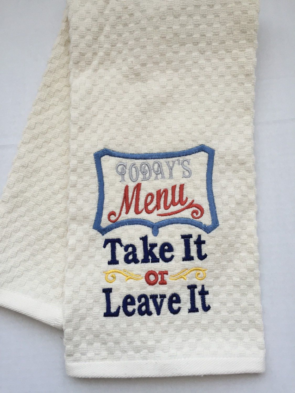 Kitchen towels Motherus Day hostess gift gifts valentines