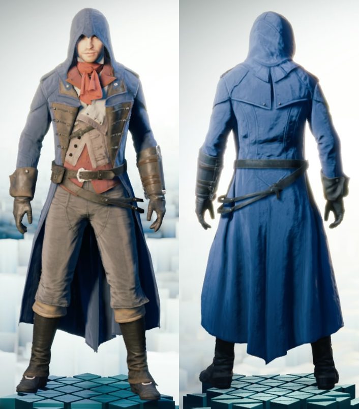 Assassin S Creed Unity Arno S Tailored Outfit Assassins Creed