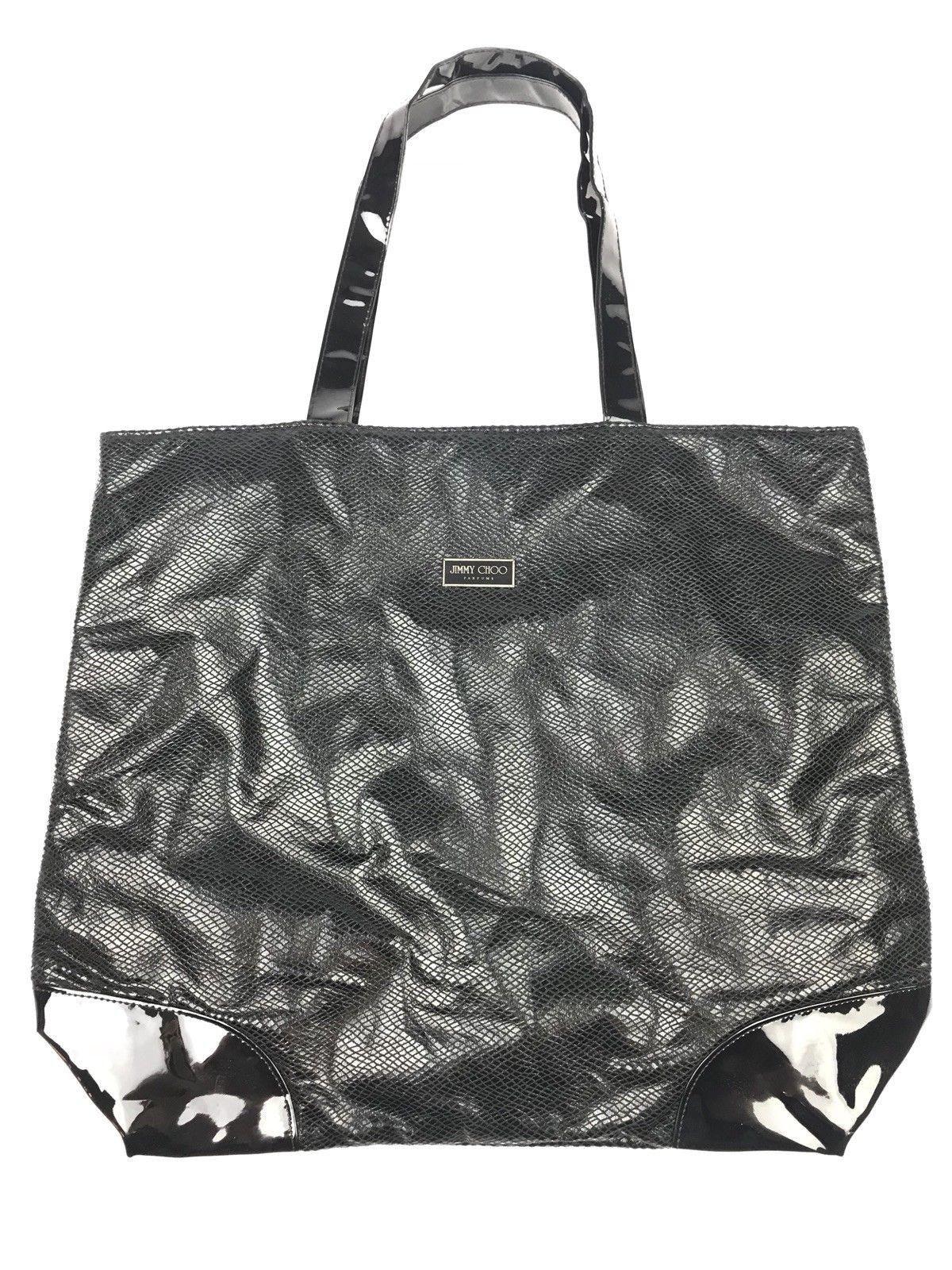 482d468204 Jimmy Choo Perfume Tote Black Beach Bag | Designer Women Bags | Bags ...