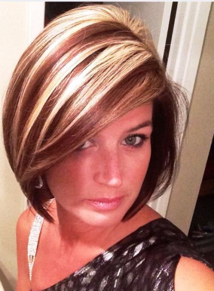 15 Ideas To Highlights Short Hair Hairstyles Featuring Highlights