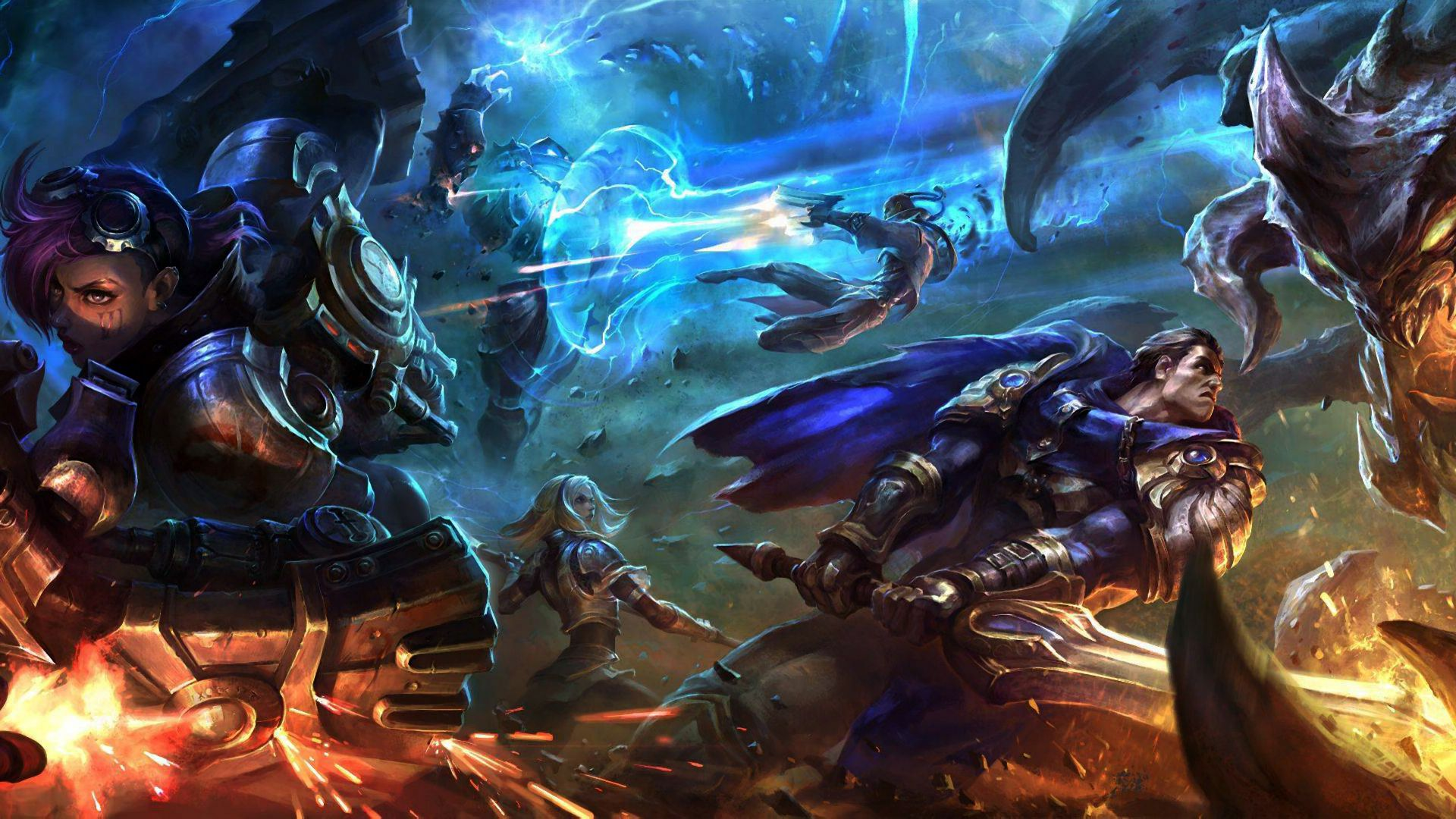 League Of Legends Wallpaper HD (1920×1080) League Of