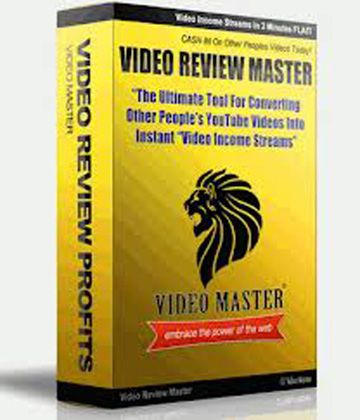 What Is Video Review Master - Is It A Scam? Simply put Video Review Master is a video marketing tool from which you can create product review videos using the existing other people's YouTube review videos – that too popular and most viewed videos, pertaining to your niche product – generating free or paid search engine traffic to promote your niche products affiliate links.  http://alfred-online.net/what-is-video-review-master-is-it-a-scam/