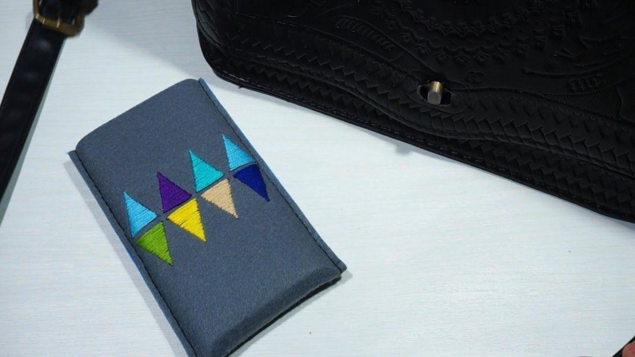 DIY_펠트처분특집2탄 보조배터리케이스_felt battery case #42