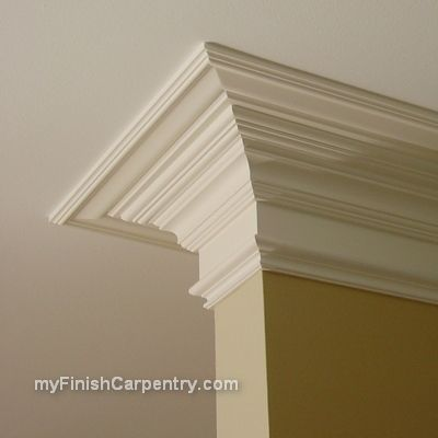 Faux Extra Wide Crown Moulding This Is The Moulding I Want Home Home Decor Home Remodeling
