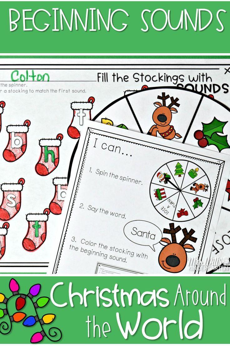 christmas around the world word work activitieskindergarten activitieslearning activitiesteaching ideasliteracy