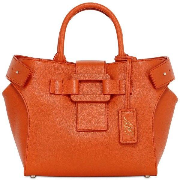 e185d4542a73 ROGER VIVIER Small Pilgrim De Jour Leather Bag ( 2