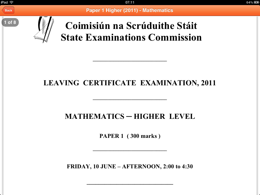 Cheap leaving cert exam papers