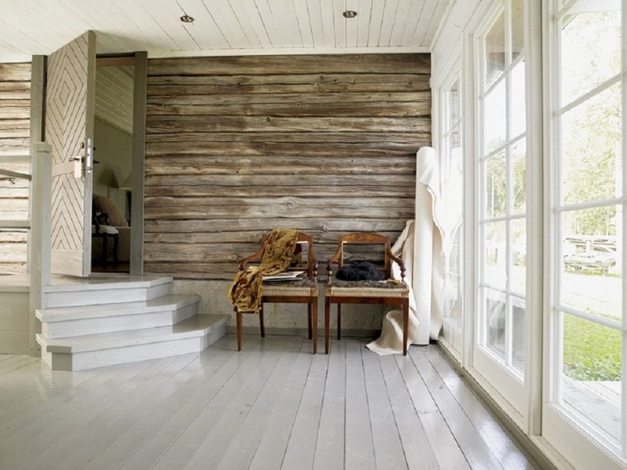 Beau Gorgeous Interior Design With Old Wood Wall Painted Wood Floors, Rustic  Wood Walls, Timber