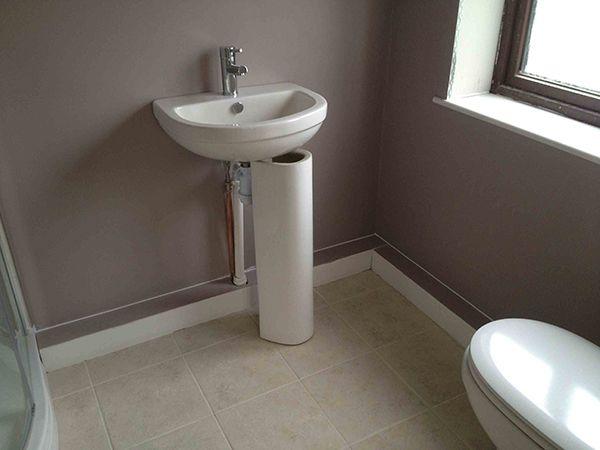 Boxing In Bathroom Pipework Bathroom Installation Hidden Toilet Hide Pipes
