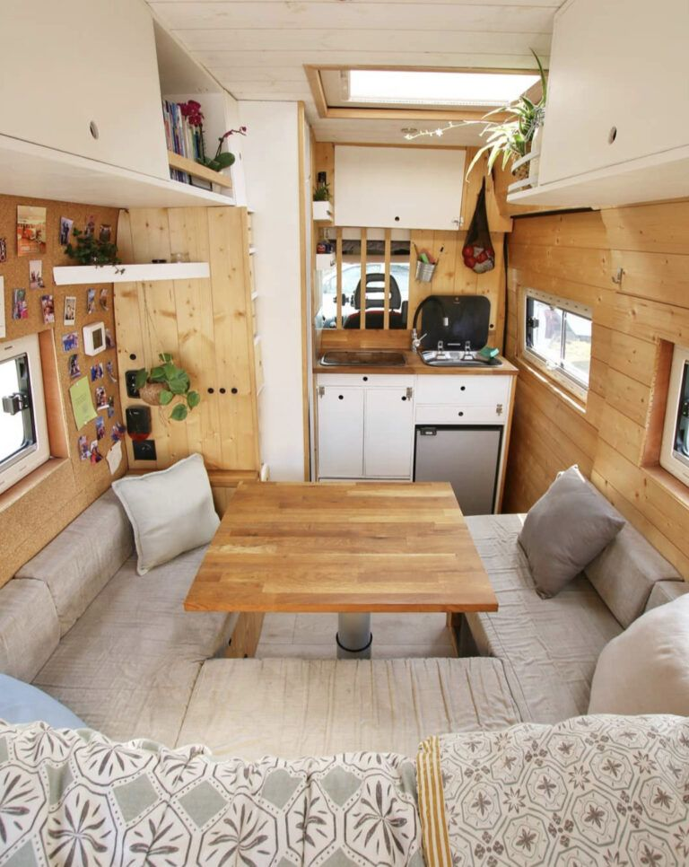 Photo of 20 Campervan Interior Inspirations For Your Next Conversion