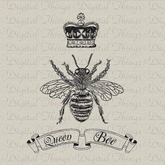 Queenbeetattoos Bee With Crown Tattoo Queen Bee Crown Script