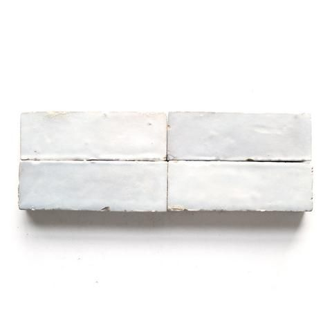 Weathered White Zellige 2 X6 X3 4 Subway Terracotta Tiles Tile Trends Weathered White