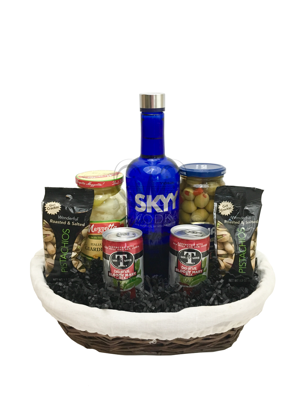 The Bloody Mary Gift Basket Is Available For Same Day Delivery In Las Vegas NV Baskets Corporate Gifts And More