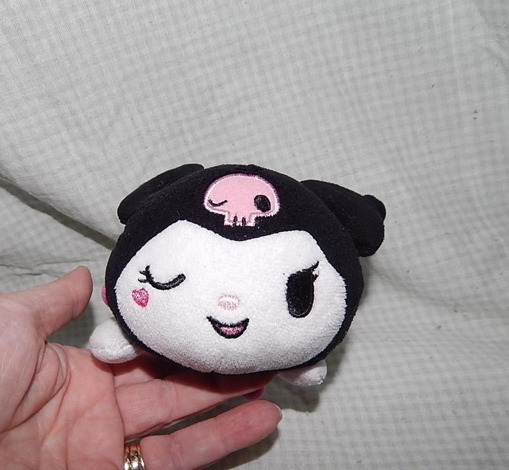 Sandrio Kuromi 5in plush doll animi 2005