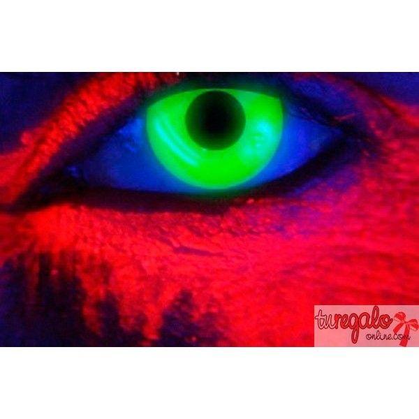 lentillas de fantasa color verde fluorescente anuales comprar lentillas de colores y de - Lentilles Colores