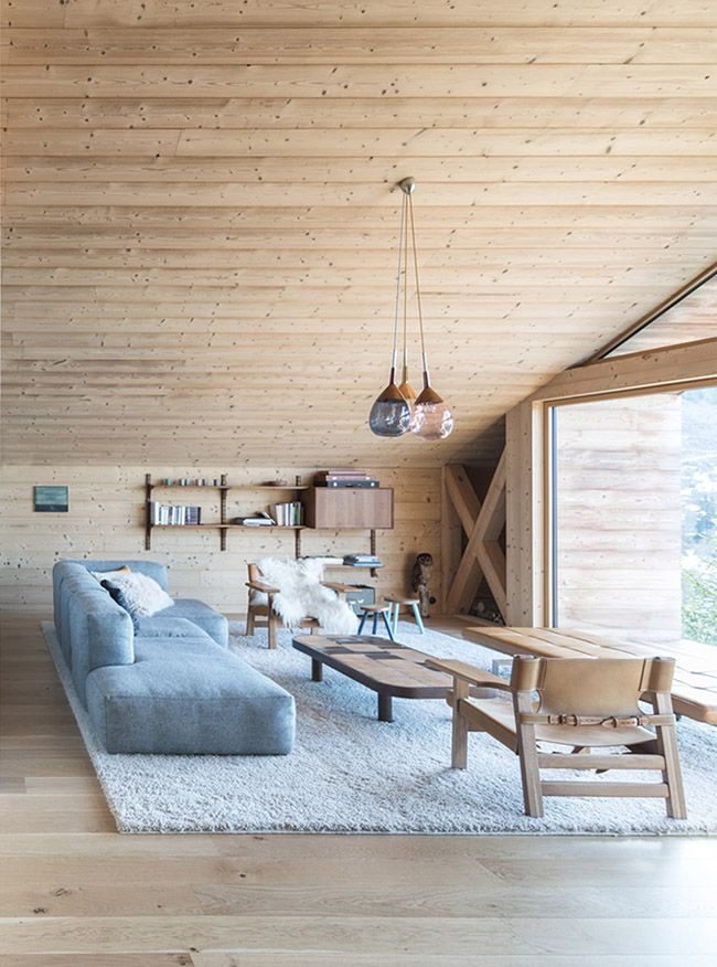 beautiful mountain home in the french alps interiors pinterest houses ski chalet and living rooms also rh
