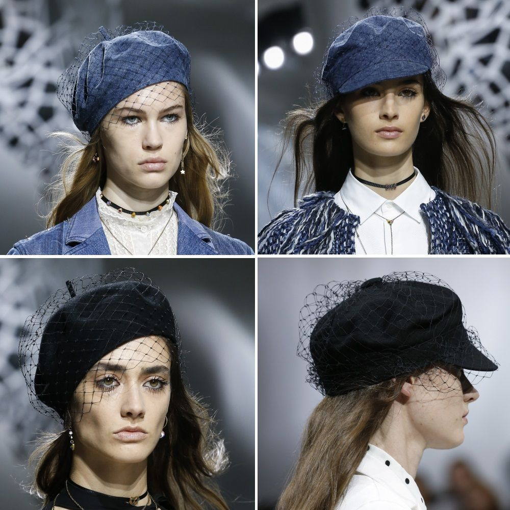 Straw Beret With Veil From Midnight Velvet Beret Beret Hat Veil