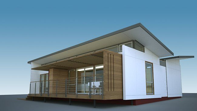 2 story affordable modern prefab homes affordable modular houses can be built in days. Black Bedroom Furniture Sets. Home Design Ideas