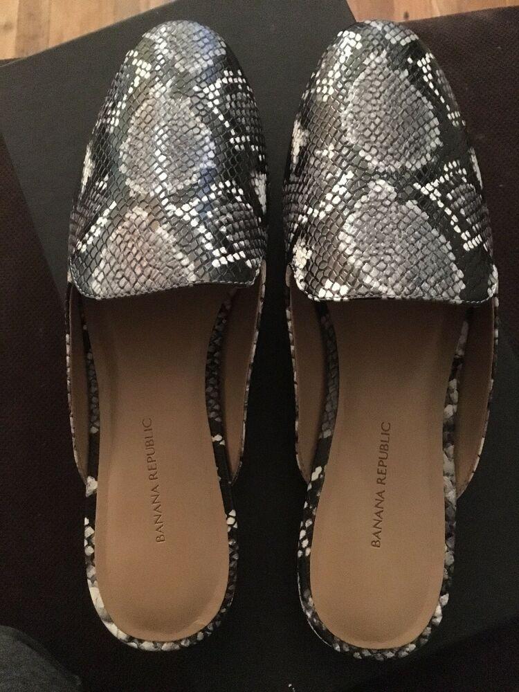 cfa4bfeeb40996 Banana Republic Demi Mule Size 8  fashion  clothing  shoes  accessories   womensshoes