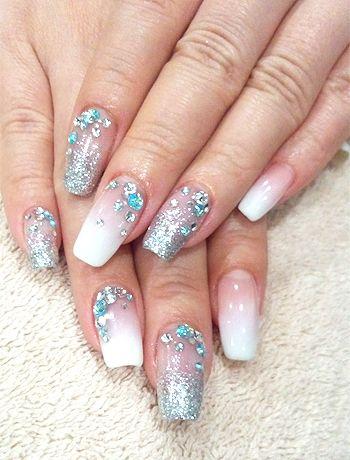 Nail art designs with glitter google search nails pinterest nail art designs with glitter google search prinsesfo Gallery