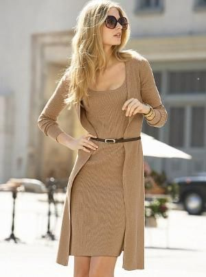 Victoria\'s Secret - Stretch Cotton Rib Tank Sweaterdress