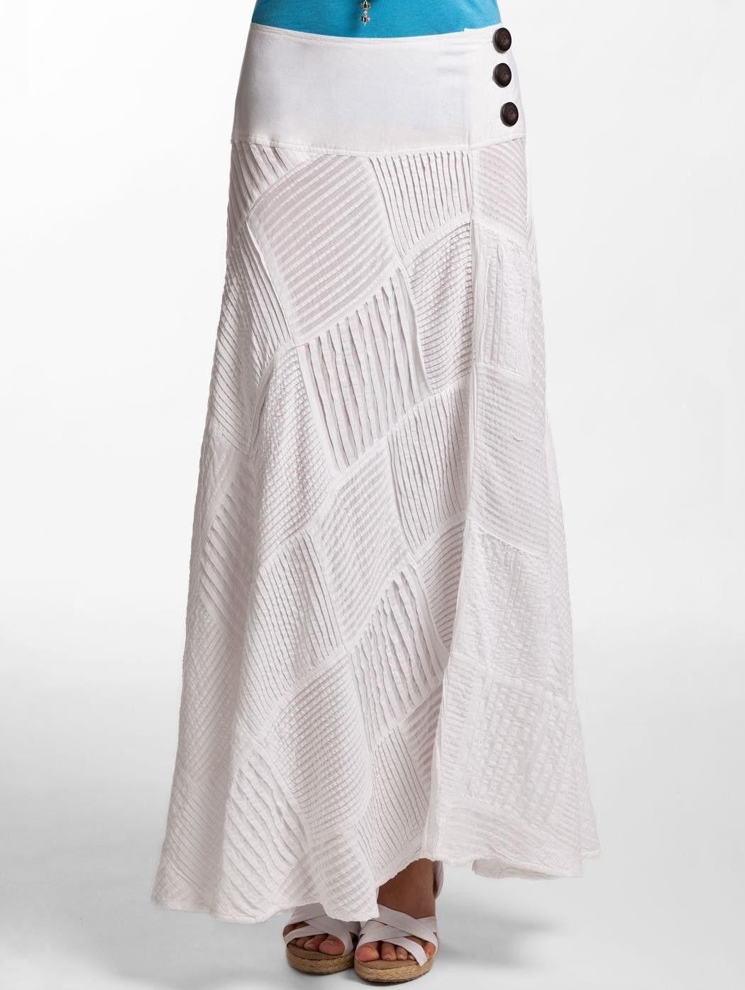 Beach Resort Wear For Women Slumber Skirt Long