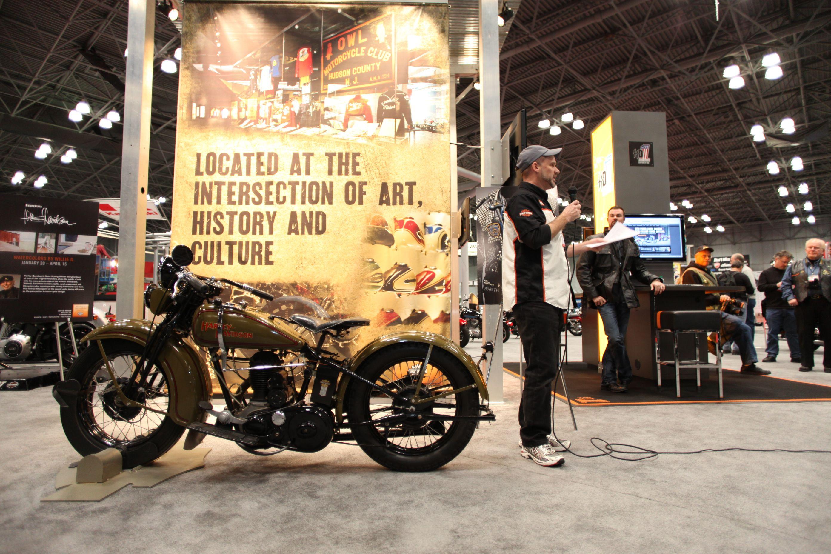 2012 Progressive International Motorcycle Show NY