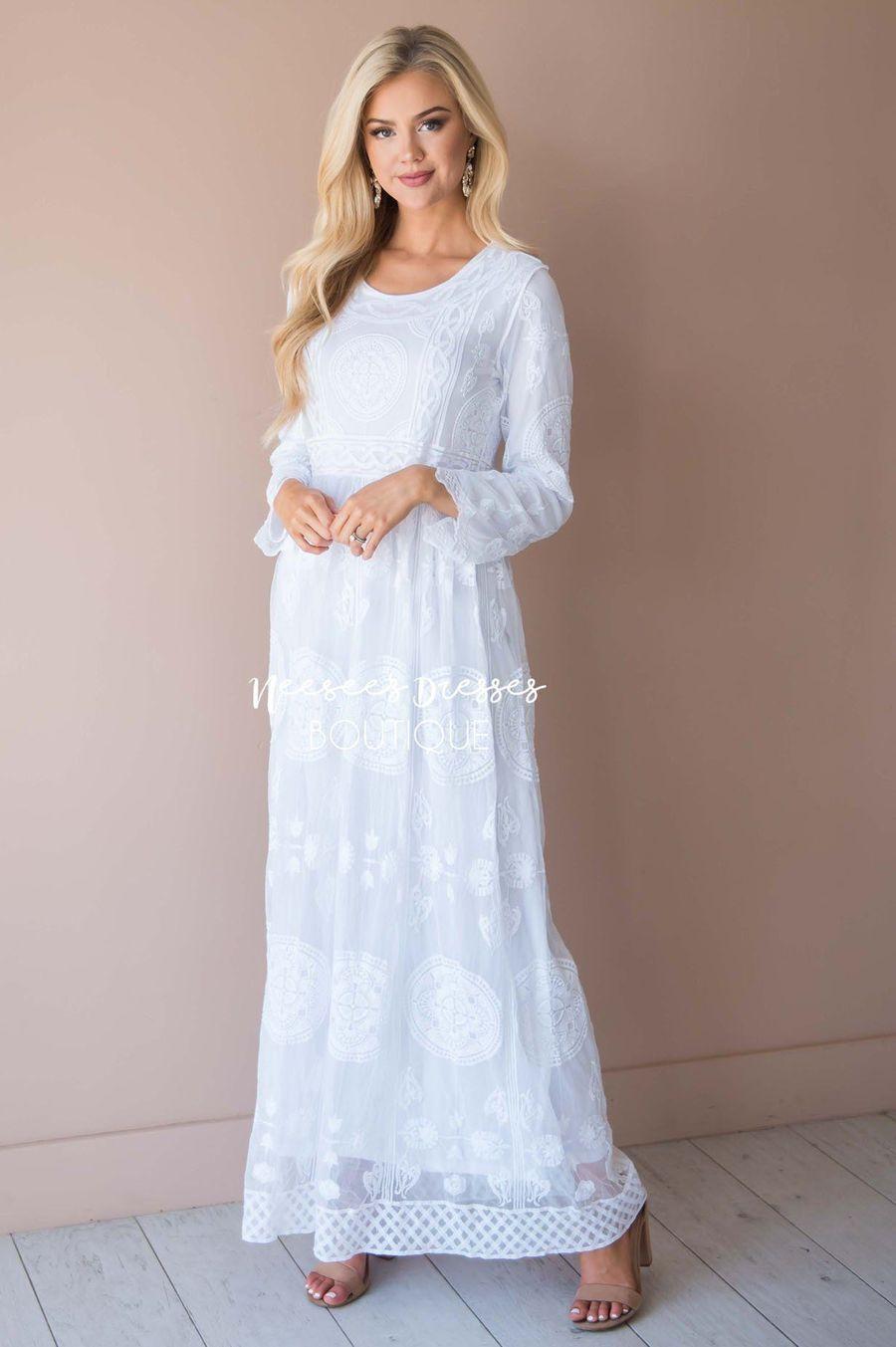The Colette Modest Dresses Vendor Unknown Temple Dress Modest Dresses Neesees Dresses [ 1353 x 900 Pixel ]