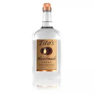 Tito S Handmade Vodka 1 75l Bottle Vodka Bottle Pot Still