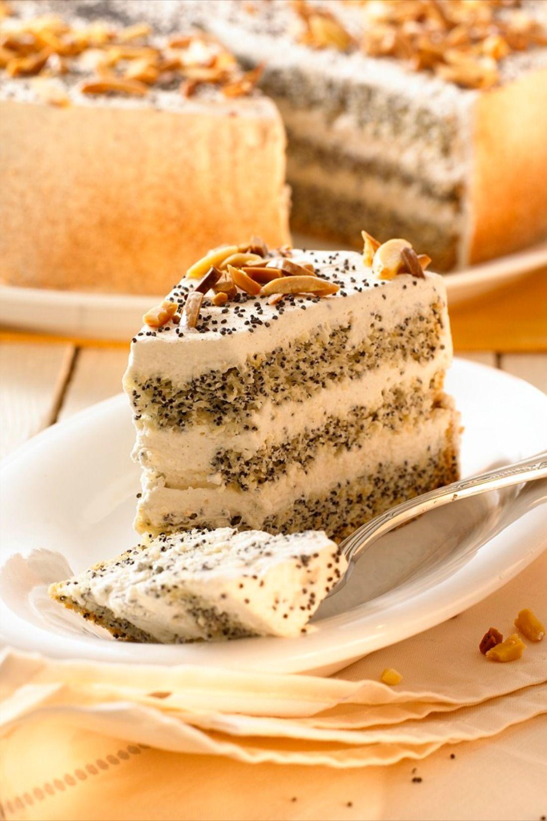 Mohn-Mandel-Torte | EAT SMARTER