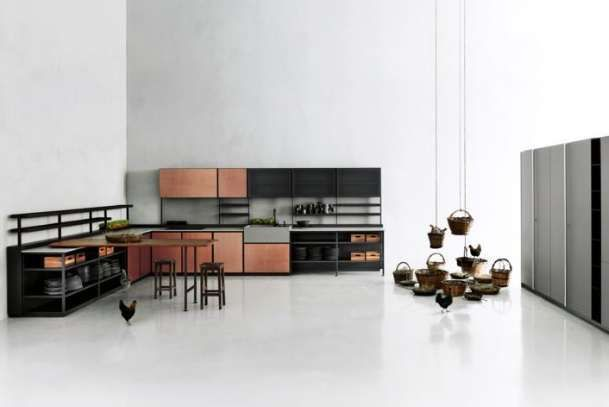Boffi cucine catalogo 2016 - Cucina color ruggine Boffi | Pinterest