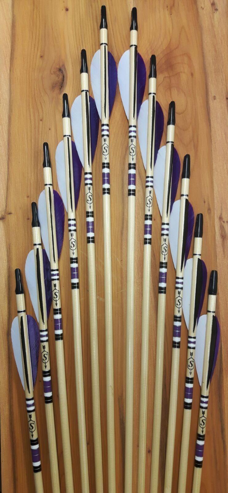 Details about longbow arrows Longbow, Archery arrows, Arrow