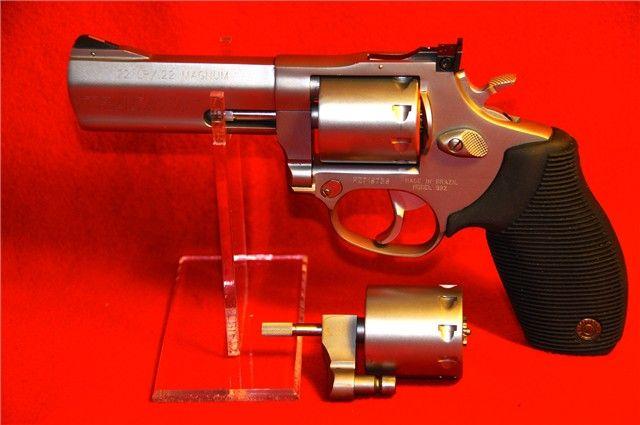 Taurus  Revolver LrMag  Shot Ss  Nib  Shoot The Best