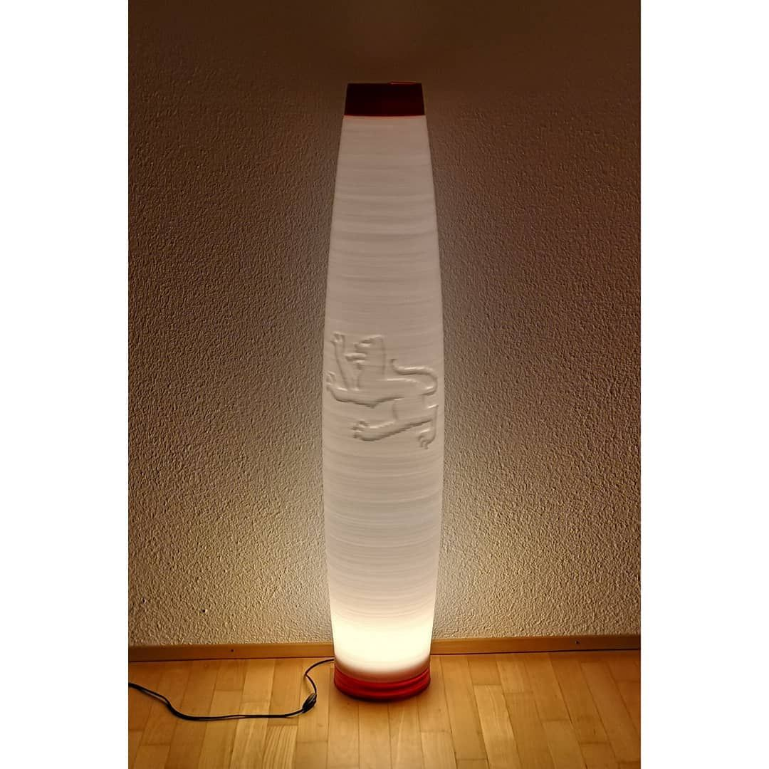 Was Wurdest Du Auf Deine Lampe Tatowieren Roboprint 3dprint 3dprinting 3dprintedlamp Large3dprint 3ddruck 3ddruckgross Novelty Lamp Lava Lamp Lamp