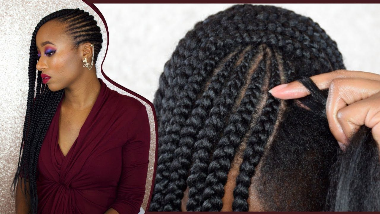 How to diy feed in braids on 4c natural hair braid tutorials how to diy feed in braids on 4c natural hair easy method detailed lemonade braids tutorial video solutioingenieria Image collections