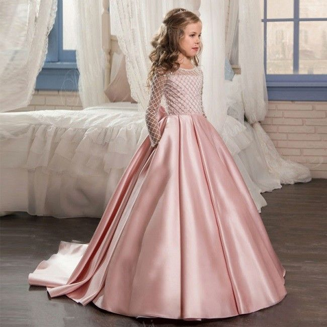 Mädchen Kleid Martha | Mädchen, Ballkleid, Hochzeitskleid kind