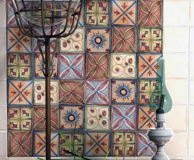 Resultado de imagen de decorar muebles con azulejos con - Azulejos pintados cocina ...