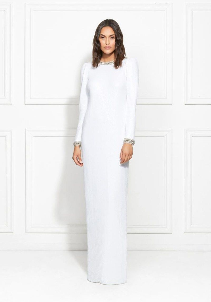 9ead4ef400d Channel Rachelís stunning CFDA look with the Grace gown