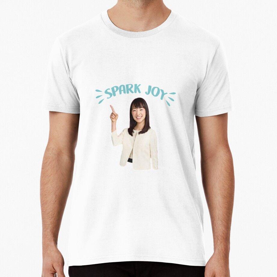 Marie Kondo Spark Joy Men's Premium T-shirt by Lauren Scott