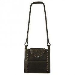 Authentic TOM FORD for Yves Saint Laurent Rive Gauche Black Leather Iconic  cross body - messenger 4da650966f8a5