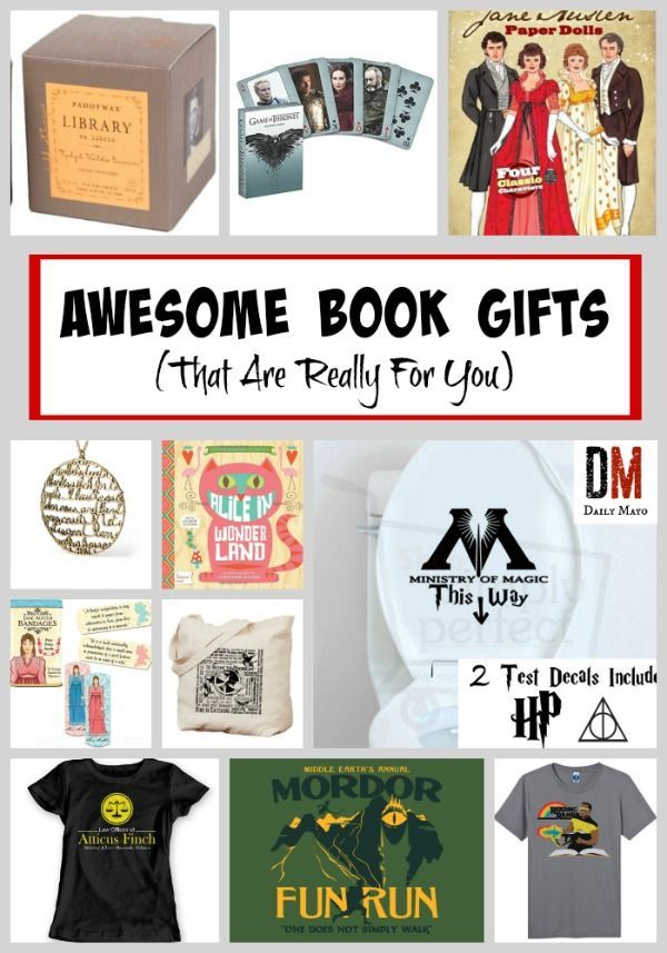 Awesome Book Gifts (that Are Really For You)